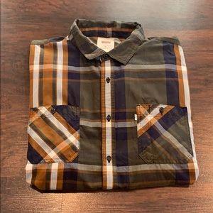 Levi's button down flannel
